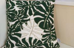 Poszewka w zielone liście