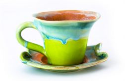 Filiżanka na herbatę z serii Zielona Wiosna
