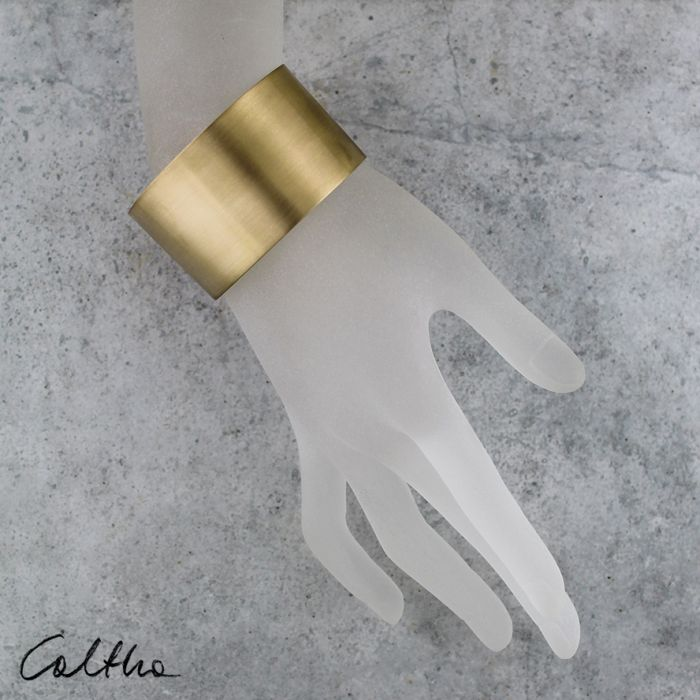 Satyna - mosiężna bransoleta 140319-03 - Mosiężna bransoleta