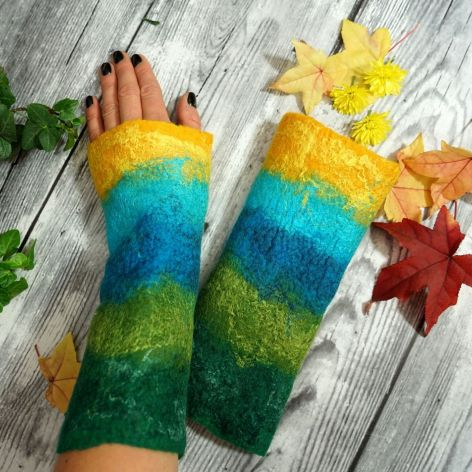 Mitenki, rękawiczki bez palców