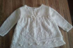 sukieneczka biała