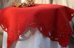 serweta haftowana Klanaja czerwień