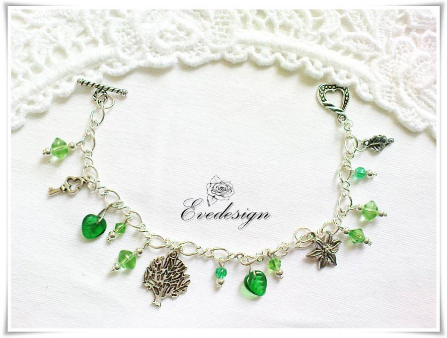 Bransoletka zielona