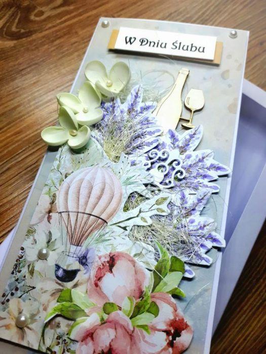 Ślubna kartka w pudełku #1 -