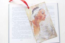 Kolorowa zakładka do książki - woman nr3