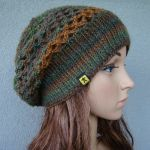 czapka - beret ażurowy - kolory