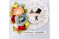 Kartka na ślub - #690