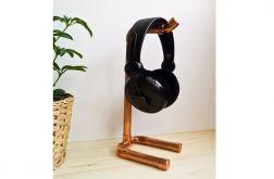 Stojak wieszak słuchawki industrialny rury