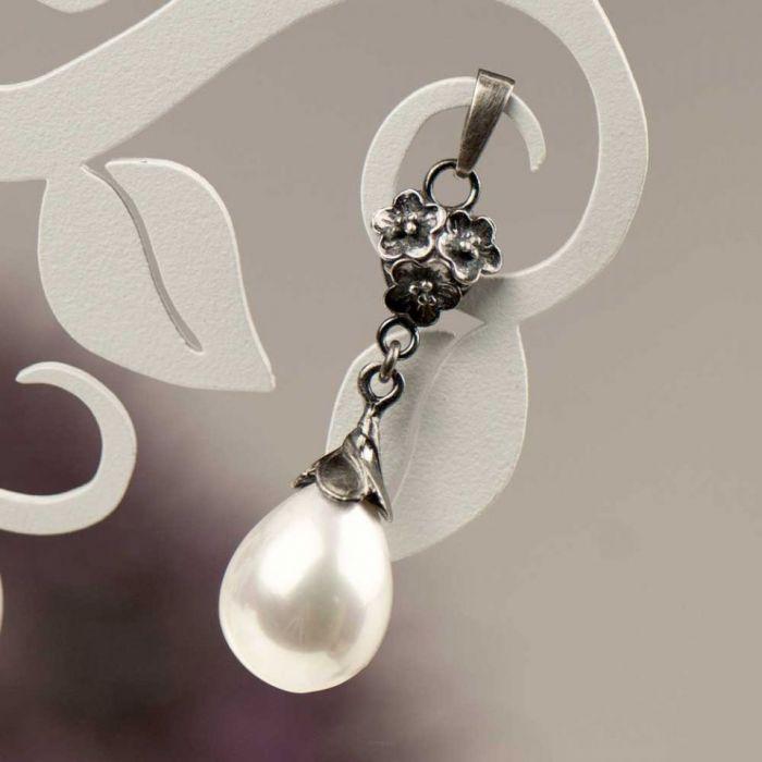 Komplet Emma z perłami Seashell a796-klp -