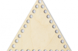 Baza koszyk trójkąt 19,5cm otwór 10mm
