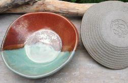 Komplet ceramicznych misek (c307)