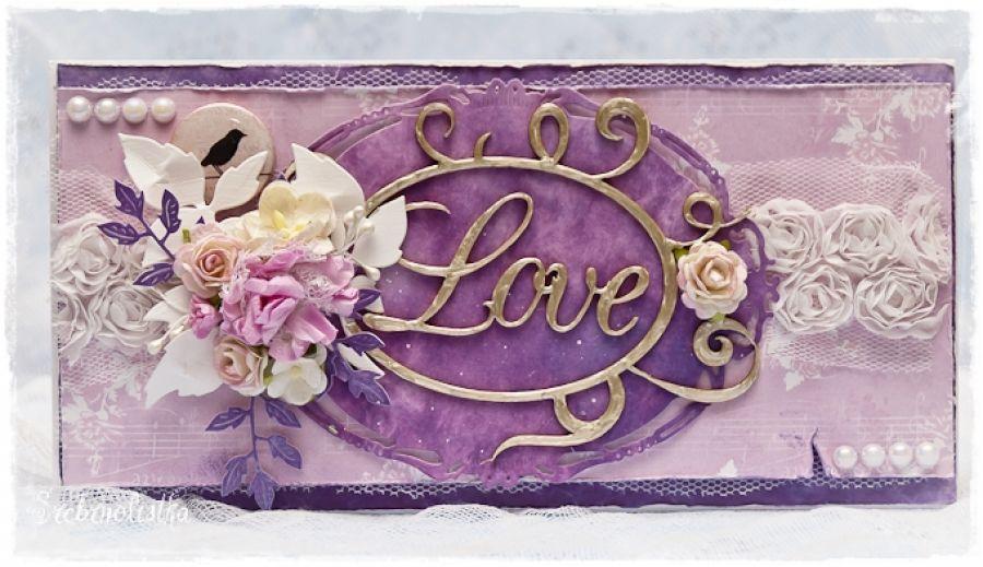 "Kartka miłosna ""Love"""