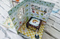 Kartka przestrzenna - pokoik dziecięcy