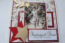 Kartka świąteczna 21 vintage