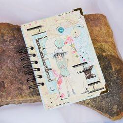 Pastelowy kalendarz