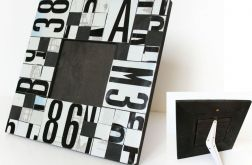 Ramka z tablic - cz-b mozaika