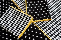 Pościel 200x200 Black Stars