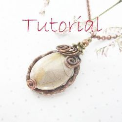 tutorial nr I - wisiorek wire wrapping
