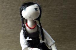 Lalka tekstylna-nieśmiała Anula