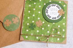 Good luck:: powodzenia:: kartka handmade III