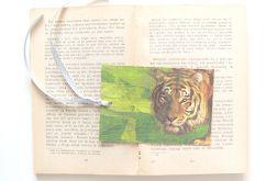 Vintage zakładka do książki zwierzęta 1