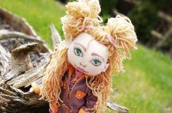 Lalka Kaśka, handmade doll, personalizowana lalka