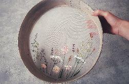 haft na przetaku - łąka na sicie