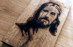 Obraz w Drewnie - Jezus