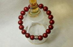 48. Bransoleta z pereł szklanych 10mm