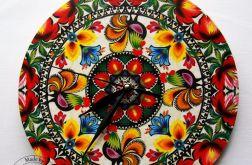 Filklorystyczny zegar