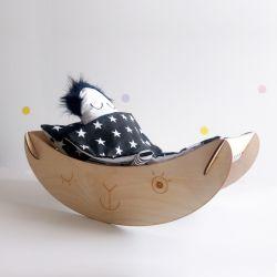 Kołyska z Lalusią Koty Dwa- Na Dzień Dziecka