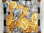 Afryka dzika II - poduszka dekoracyjna