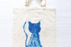 Bawełniana torba z kotem nr1