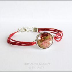 Bransoletka - Lato - czerwona