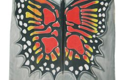 Chusta Jedwabna - motyl