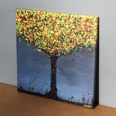 Obraz żÓŁTODRZEW, wydruk na płótnie 50x50cm
