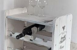 Stojak na wino 8 butelek wers2