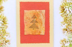 Kartka świąteczna minimalizm nr 44