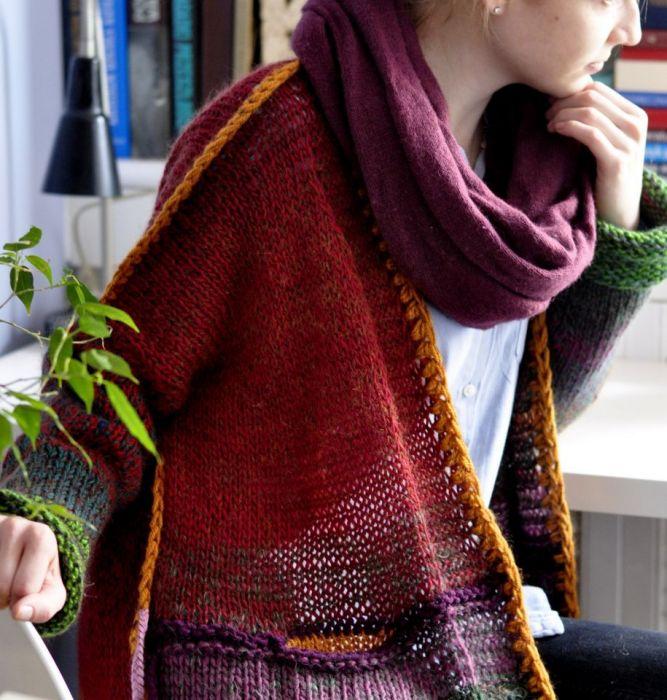 Multikolor sweter . -