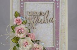 kartka ślubna #1c