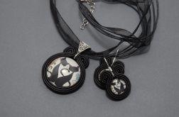 komplet biżuterii sutasz - koty