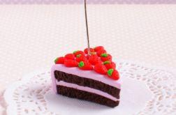 Torcik truskawkowy - stojaczek na zdjęcie
