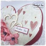 Kartka serce - Napis może ulec zmianie