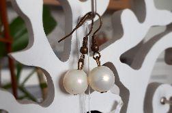 Kolczyki handmade perłowe