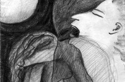 Krzyk - oryginalny rysunek 0204