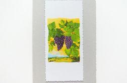 Kartka uniwersalna winogrona 2