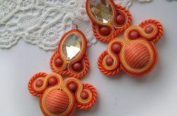 Orange - kolczyki sutasz