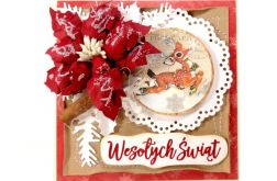 #721 - KARTKA, Boże Narodzenia, świąteczna