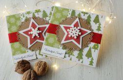 Kartka świąteczna Boże Narodzenie Gwiazdka