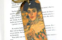Zakładka - Klimt, prezent dla malarza